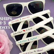 set wedding sunglasses wedding favor personalized