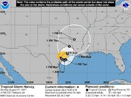 national weather forecast map hurricane harvey forecast maps 10 pm aug 27 2017 houston