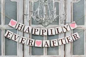 Barn Prop Wedding Banners Happily Ever After Sign Rustic Barn Wedding