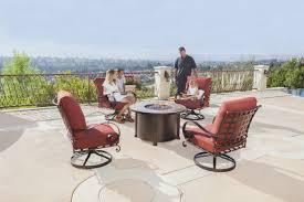 patio furniture las vegas new o w lee luxurious outdoor casual