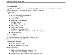 Sample Resume For Receptionist by 100 Sample Resumes For Receptionist Resume Making A Resume On