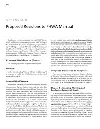 appendix d proposed revisions to fhwa manual heat