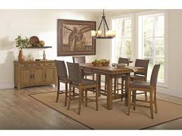 rustic counter height dining table sets jonas 5 piece counter