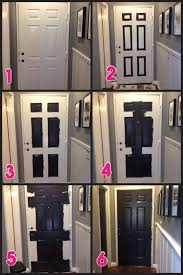 How To Paint A Front Door Without Removing It Best 25 Painting Doors Ideas On Pinterest Painting Front Doors