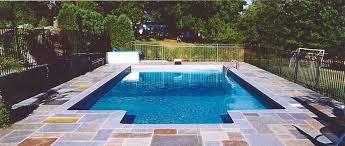 Inground Pool Patio Designs Stunning 50 Rectangle Inground Pools Decorating Design Of