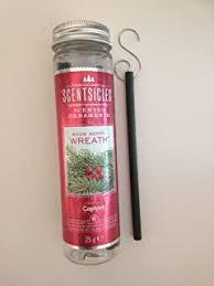 scentsicles winter fir scent sticks pack of 6 co uk