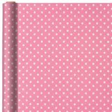 polka dot wrapping paper jumbo pink polka dot gift wrap 16ft party city