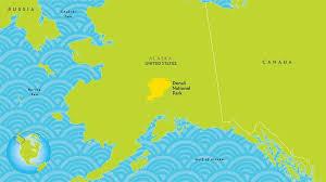 denali national park map denali national park and preserve