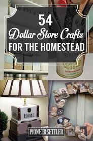 Easy Diy Home Decor Ideas 54 Dollar Store Crafts For The Homestead Dollar Store Crafts