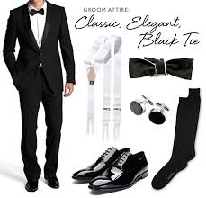 black tie attire groom attire classic black tie floridian social