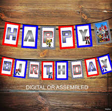 transformers birthday decorations transformer s birthday party decor transformers birthday banner