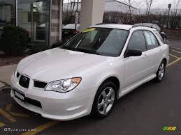 white subaru impreza hatchback 2007 satin white pearl subaru impreza 2 5i wagon 21712658