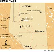 Where Is Fort Mcmurray On A Map Of Canada by Deep In The Montney Grande Prairie First To Emerge From Brutal