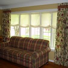 Curtains Inside Window Frame Home Decor Bay Window Treatment Ideas Short Curtains For Bedroom