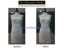 alteration services singapore wedding gown alteration projects