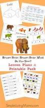 brown bear brown bear what do you see preschool lesson plans