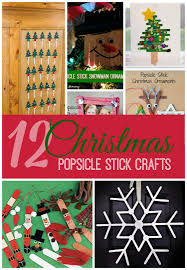 popsicle stick crafts for christmas fun for kids