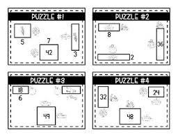 math logic puzzles area perimeter and multiplication