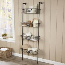 Wall To Wall Bookcases Tanya 4 Tier Wire Basket Wall Shelf U0026 Reviews Joss U0026 Main