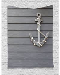 wooden anchor wall slash prices on anchor decor wall hanging tapestry wooden anchor