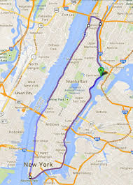 George Washington Bridge Map by Driver Claims New Record For Fastest Lap Around Manhattan