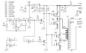 12v to 220v homemade car inverter detailed annotation