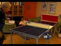 home ping pong table ping pong for everyone freestyle table tennis at home youtube
