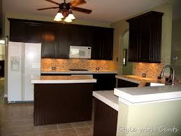 s w cabinets winter haven dark painted cabinets 750 total kitchen remodel sherwin williams