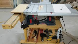 Bosch Saw Bench Bosch Gts 10 Xc Table Saw 테이블쏘제작 부엉이공작소 Youtube