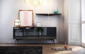 Sideboard In Living Room Modloft Modern U0026 Contemporary Furniture Christopher Sideboard