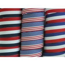 striped grosgrain ribbon 5 yards 3 4 6 8 american patriotic stripes grosgrain ribbon