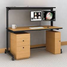 Computer Desk With Cabinets Computer Table With Cabinets Afcindustries Com