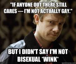 Bisexual Memes - if anyone out there still cares i m not actually gay but i didn