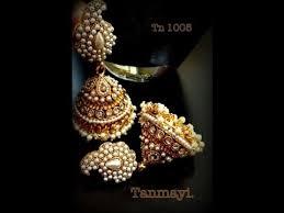 buttalu earrings top 12 models of gold and pearl ear hangings buttalu