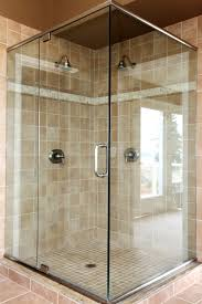 patterned glass shower doors maryland glass and mirror company custom shower enclosures