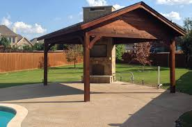 How To Build A Freestanding Patio Roof by Frisco Patio Cover Poolside Hundt Patio Covers