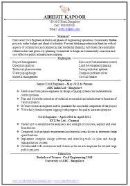 Best Resume For Experienced Software Engineer Resume For Your by Sample Resume For Experienced Civil Engineer Gallery Creawizard Com