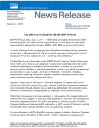Usda Rual Development Press Releases And Announcements U2013 Brownsville Haywood County