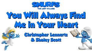 heart u2013 smurf lost village