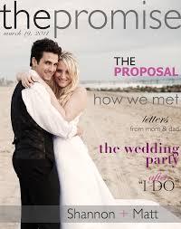 wedding magazines get your own custom wedding magazine on an 2 from jess