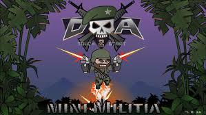 doodle army apk doodle army 2 mini militia apk mod 4 0 11