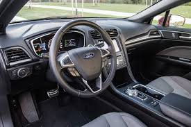ford fusion 2017 interior review 2017 ford fusion v6 sport canadian auto review