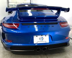 old porsche spoiler 2015 porsche 911 gt3 stock 46 for sale near mountain view ca