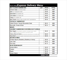 Excel Forms Template Delivery Order Template 14 Free Excel Pdf Documents
