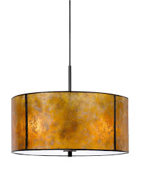 American Made Light Fixtures Mica Pendant Light Stocked In 18 Width Custom Sizes And