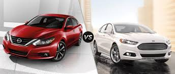 nissan ford 2016 nissan altima vs 2016 ford fusion