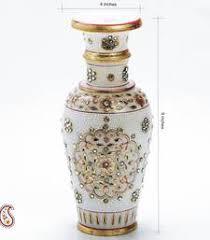 Buy Vases Online Decorative Vases Online Marble Flower Vase Shopping India