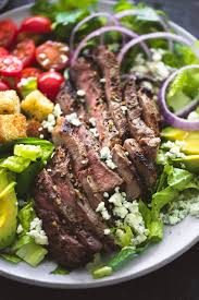cuisine steak black n blue grilled steak salad creme de la crumb