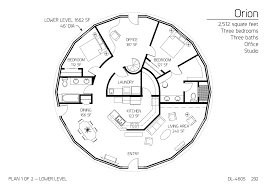 15 orion monolithic dome home plans floor plan dl 4602