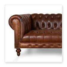 Chesterfield Sofa Usa Cococo Custom Chesterfield Leather Tufted Sofas Made In Usa